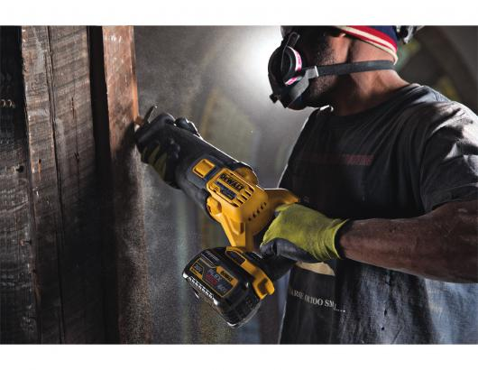 Flexvolt is the industry's first cordless tool system in which the batteries automatically change voltage when the user switches between tools of varying voltages (20V Max, 60V Max, and 120V Max). According to the company, the system allows jobsites to fully transition from corded to cordless tools.