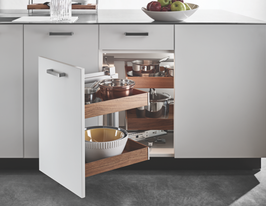 Hafele Fineline Kitchen cabinet