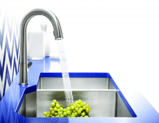 thanks to advancing technologies, performance and options for electronic faucets are better than ever.  Though the trend began in commercial bathrooms, hands-free faucets have proliferated to the residential side—and into the kitchen—with acceptance and availability growing over the past few years as sensors have improved and styles have evolved and expanded.
