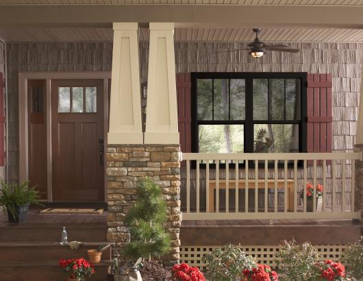 Ply Gem Windows 1500 Vinyl Collection in black