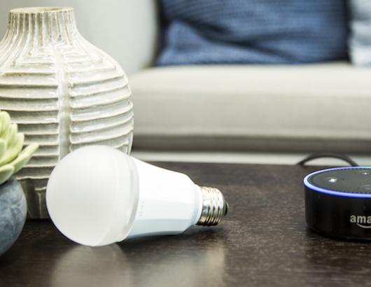 Ketra LED light bulb and Amazon Alexa