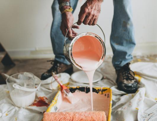 paint pour
