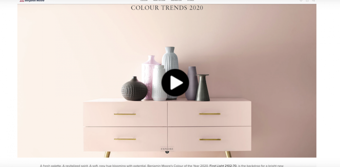 2020 Color of the Year Benjamin Moore