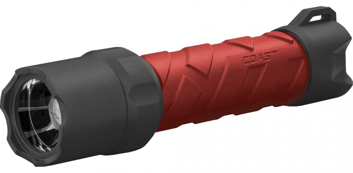 The Polysteel 600R flashlight projects a beam up to 810 feet. Featuring a Pure Beam Optics System that produces a pure, bright, consistent beam, the product uses a lithium rechargeable battery pack or standard alkaline batteries. It's available in various colors and is waterproof, crush proof, and drop proof, the maker says.