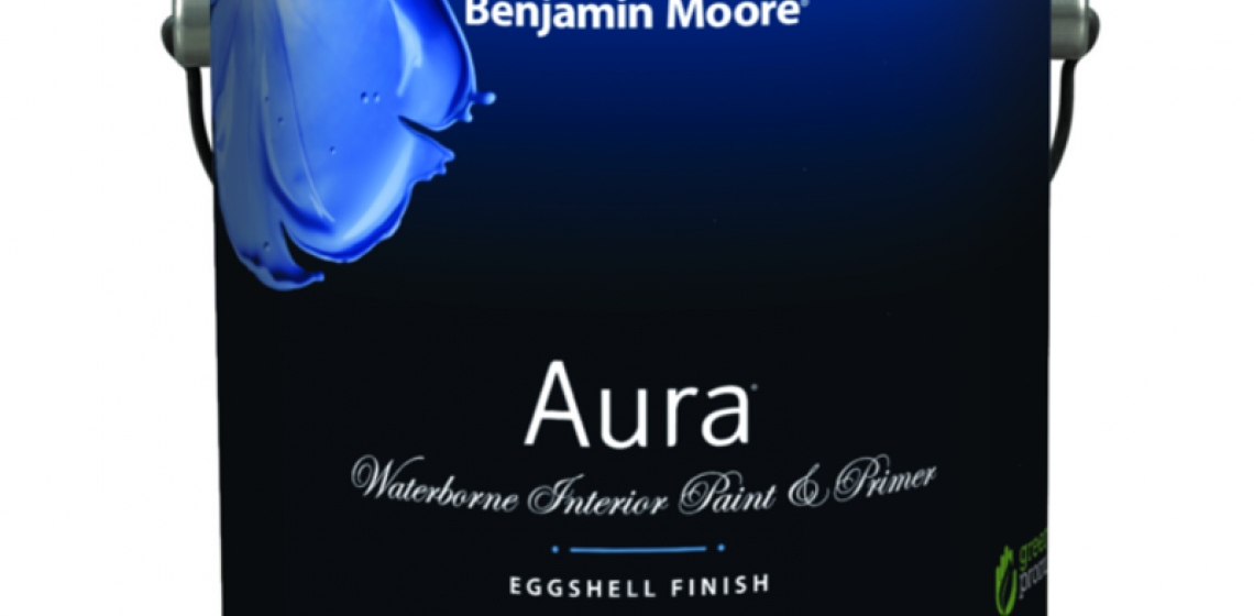 Benjamin Moore Aura paint and primer