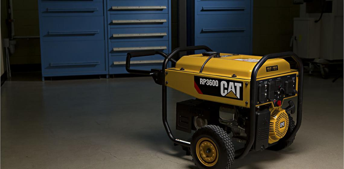 Heavy equipment manufacturer Caterpillar has unveiled a new line of home and outdoor portable generators, marking its entry into the power market.