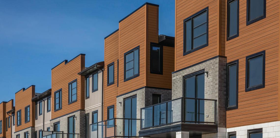Cedar Renditions Design Series multifamily