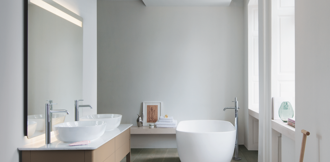 Duravit Luv Collection by Designer Cecilie Manz bathroom