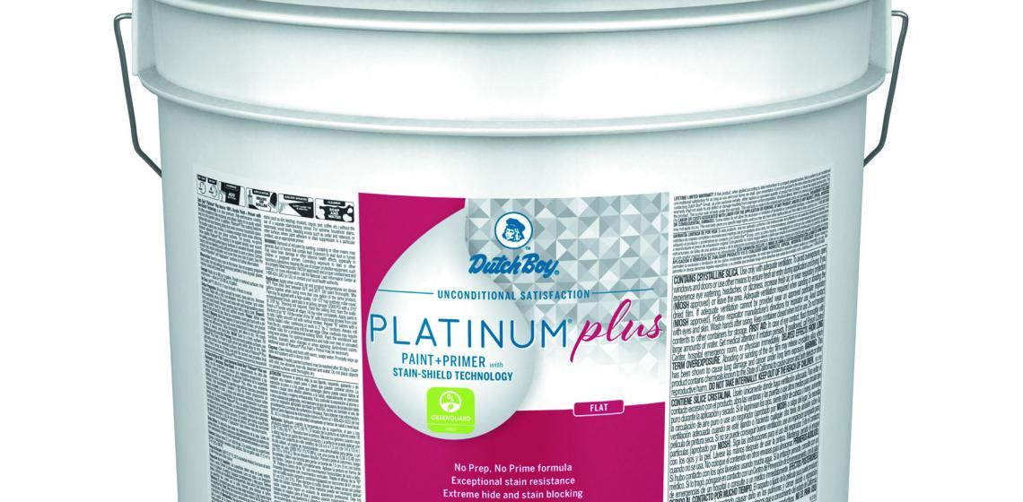 Dutch Boy Platinum Plus Pail size