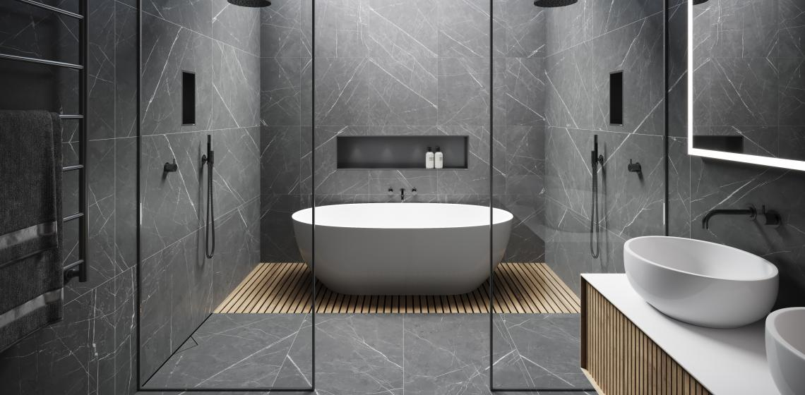 Easy Drain modern luxury bath