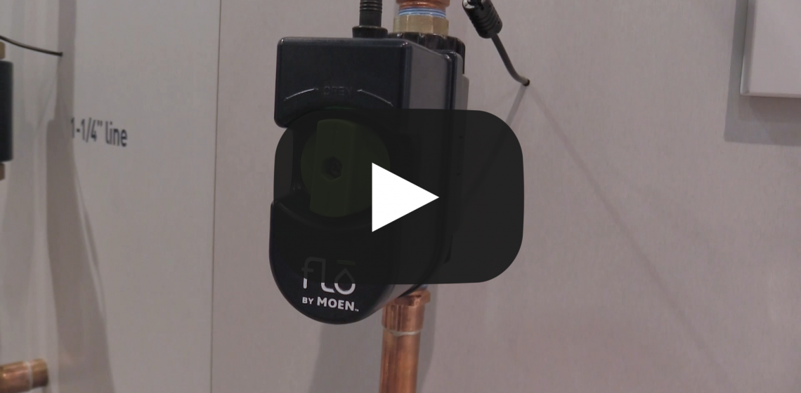 Flo by Moen water monitoring system