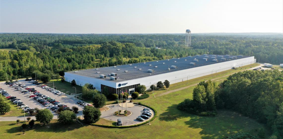 GE Appliances Plant in Camden South Carolina