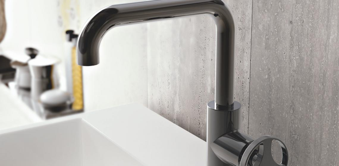 GRAFF Harley Collection single hole tall lav faucet