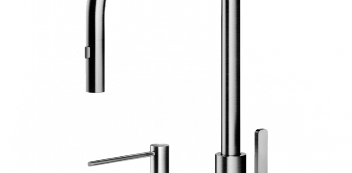 The Galley tap faucet and soap dispenser