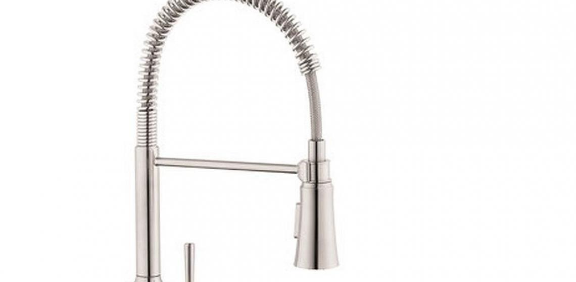 Hansgrohe Joleena 1.75 GPM 2-Spray Semi-Pro Kitchen Faucet