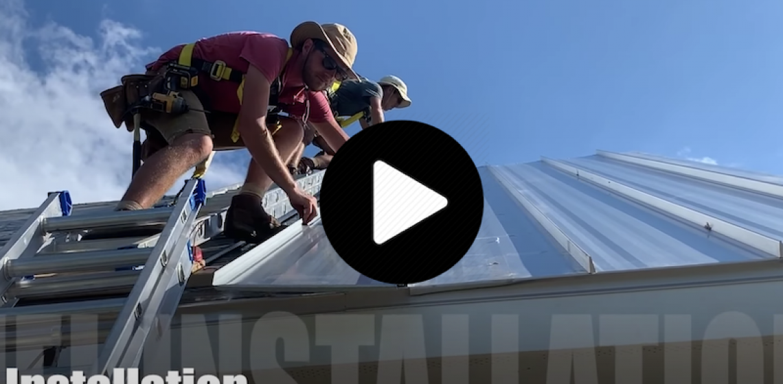 Heirloom Builders How to Install a metal roof video screenshot
