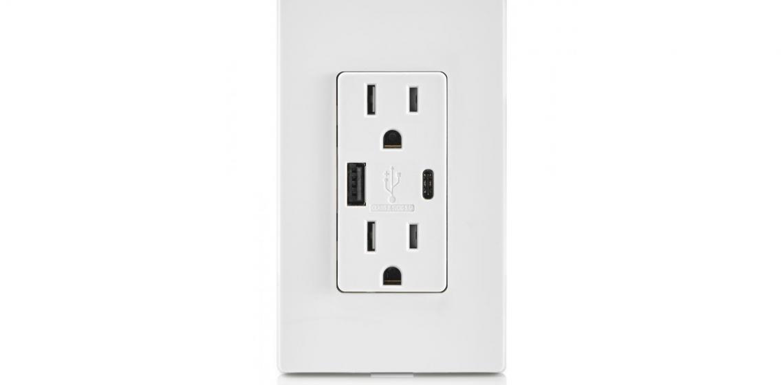 Leviton Type A Type C USB