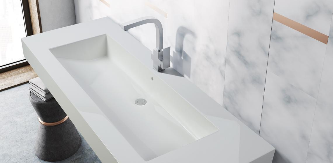 MTI Baths Metropolis wall mount sink