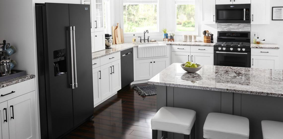 Maytag Cast Iron Appliances Kitchen Suite
