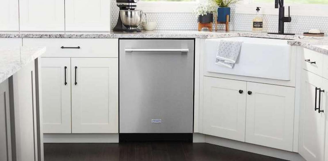 Maytag Top Control Dishwasher with Dual Filtration Power
