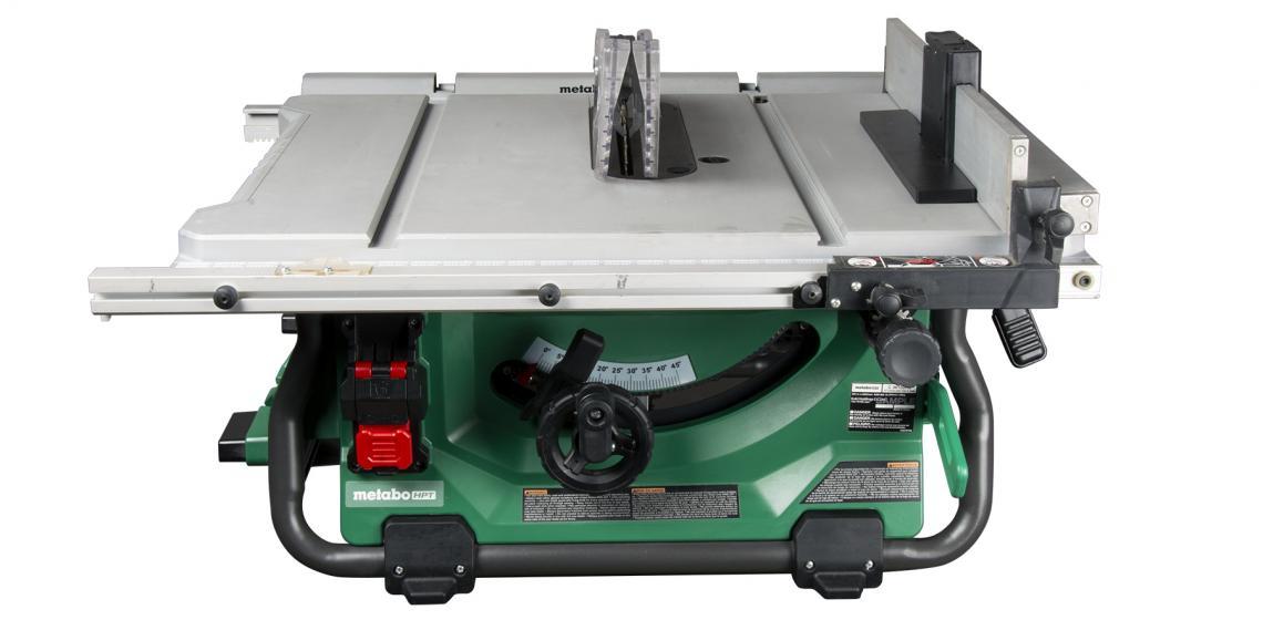 Metabo HPT 36V MultiVolt Corded Cordless Table Saw Closed
