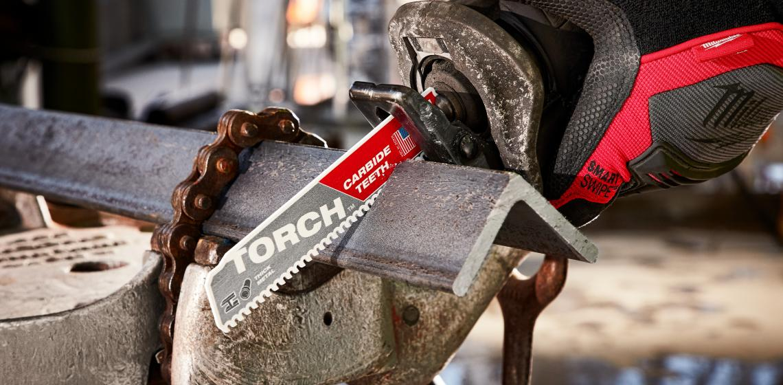 Milwaukee Tool The Torc Reciprocating Saw with Carbide Teeth