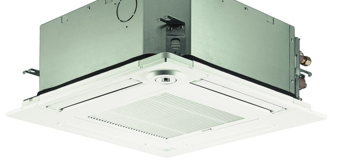 Mitsubishi Electric Trane HVAC SLZ ceiling cassette silo