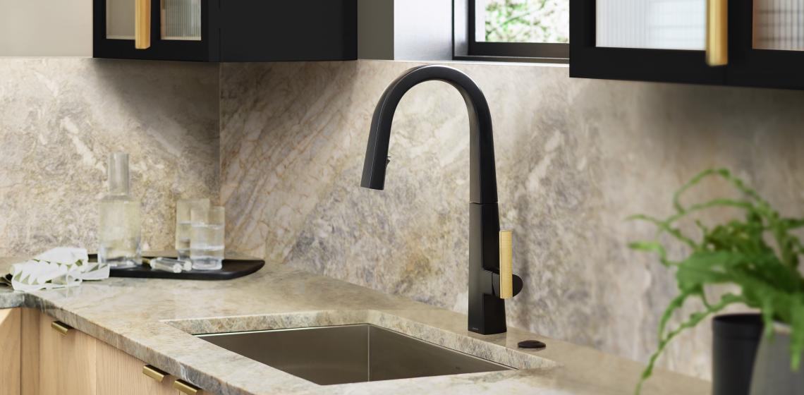 Moen Nio kitchen faucet