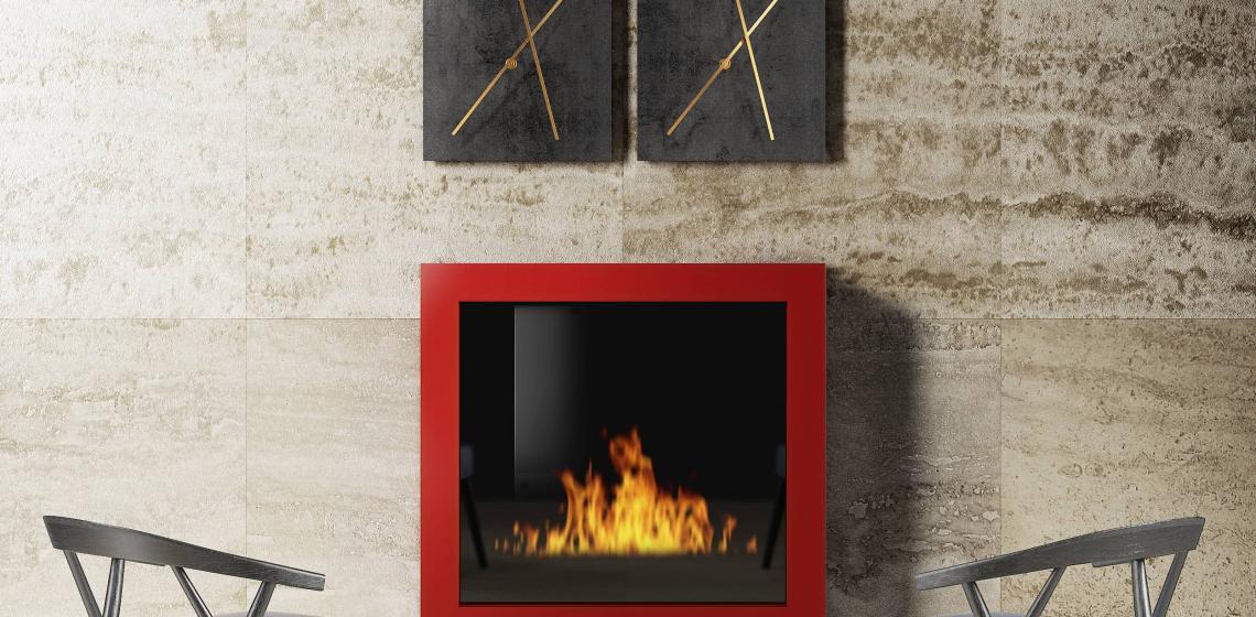 OLMAR SQUARE Sanitizing fireplace