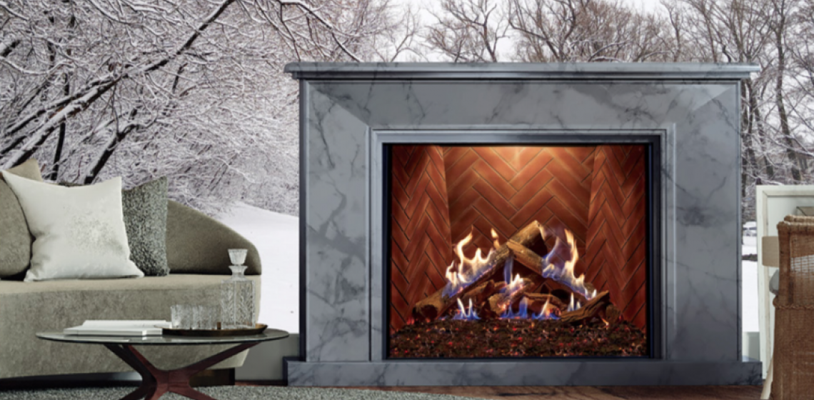 Ortal Fireplaces Wilderness Collection Installation