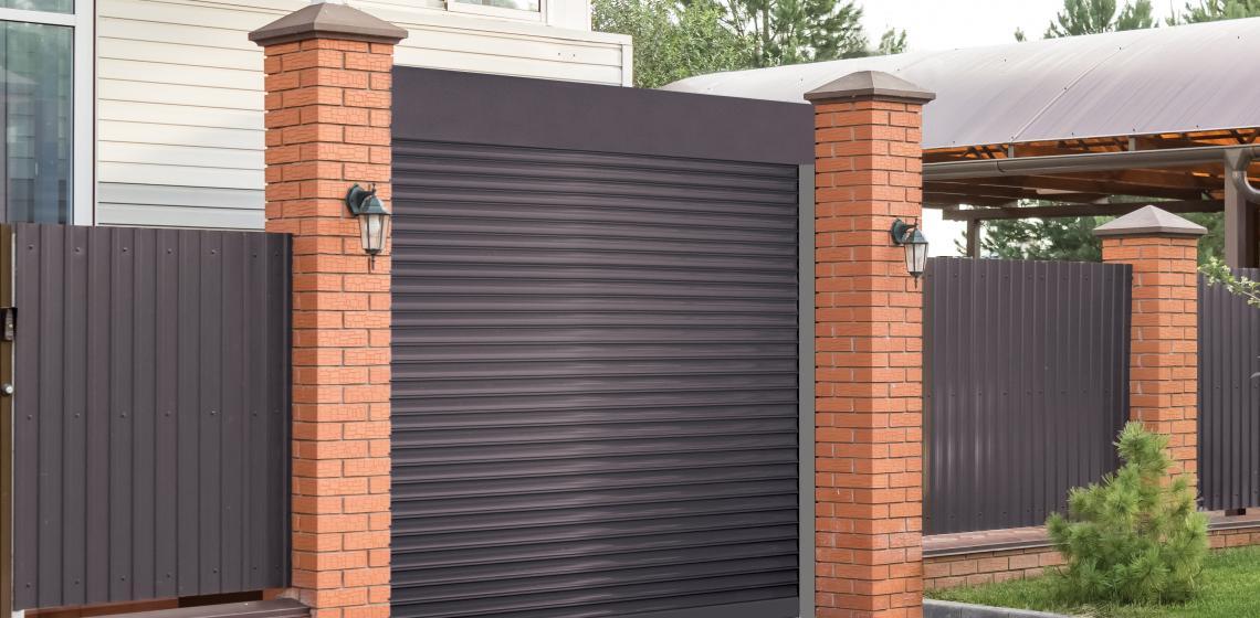 Overhead Door Brand Shutter System Allura bronze