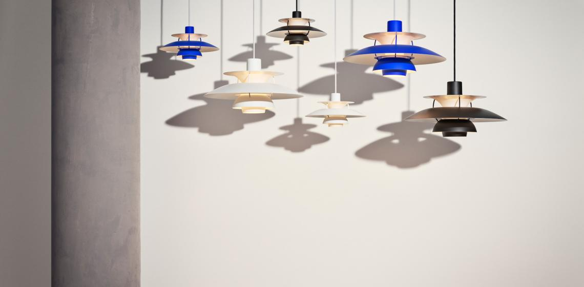 PH 5 Louis Poulsen light pendants