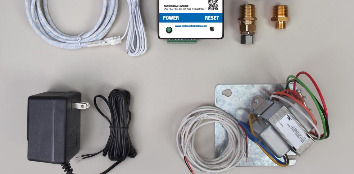 Reliance Detection Technologies' FloodMaster RS-092 leak detection and automatic shut-off system