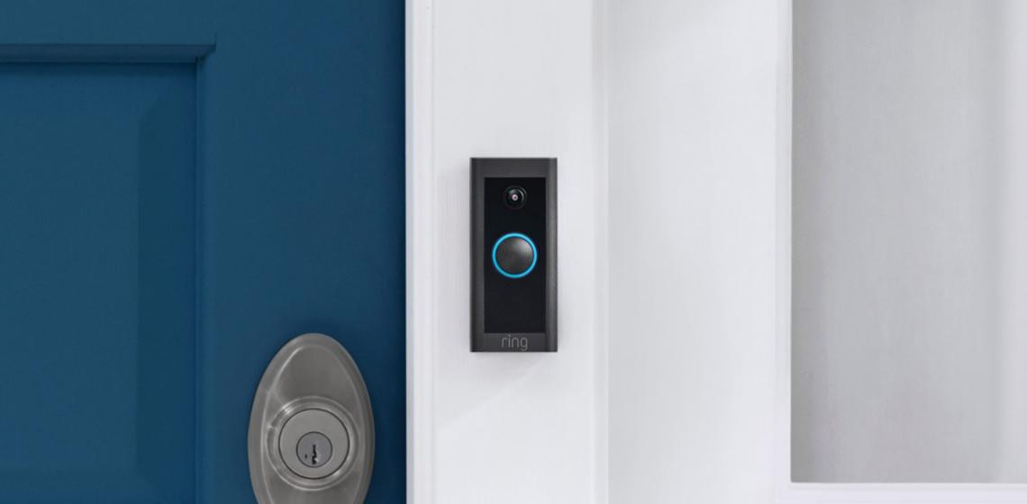 Ring Video Doorbell Wired installed