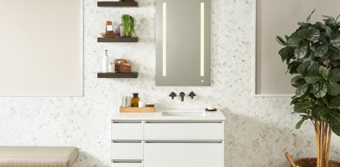 Robern AiO bathroom vanity