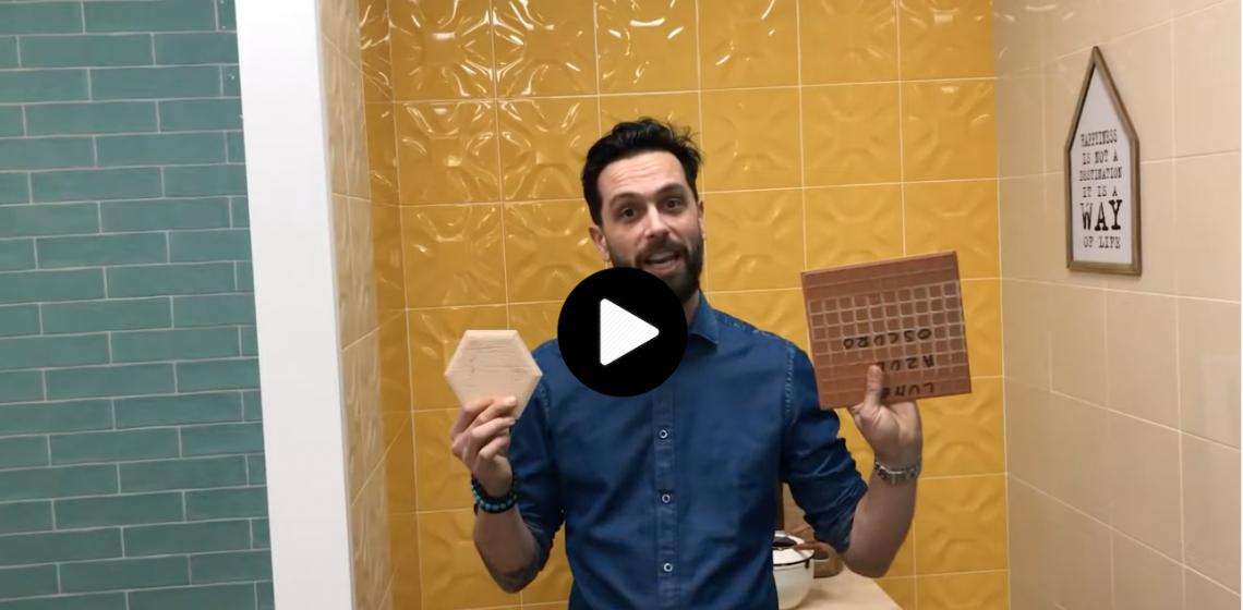 Ryan Fasan Red Body White Body ceramic tile comparison