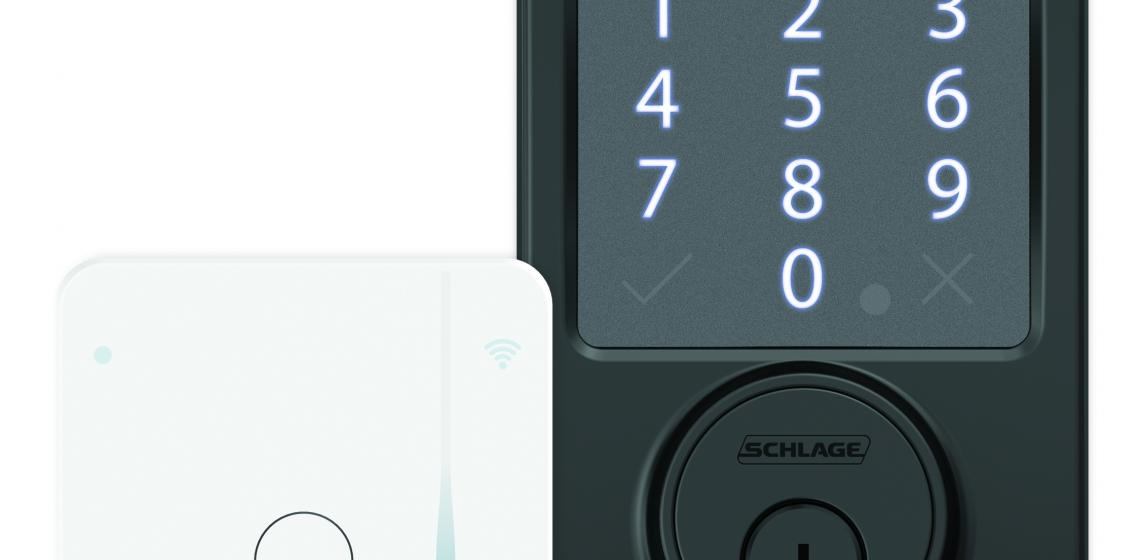 Schlage has updated its Smart Deadbolt to make it compatible with Android phones, in addition to iPhones, and has added a Wi-Fi adapter that allows any smartphone to control the lock remotely.