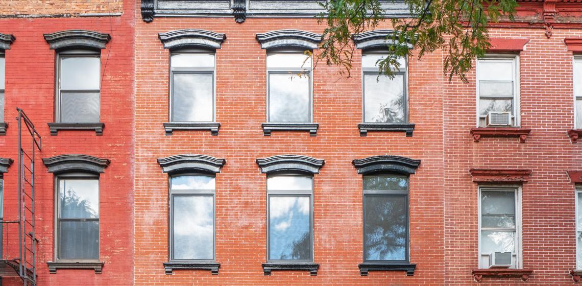 StudioSC Brooklyn Passive House Condo Conversion Entry Wide