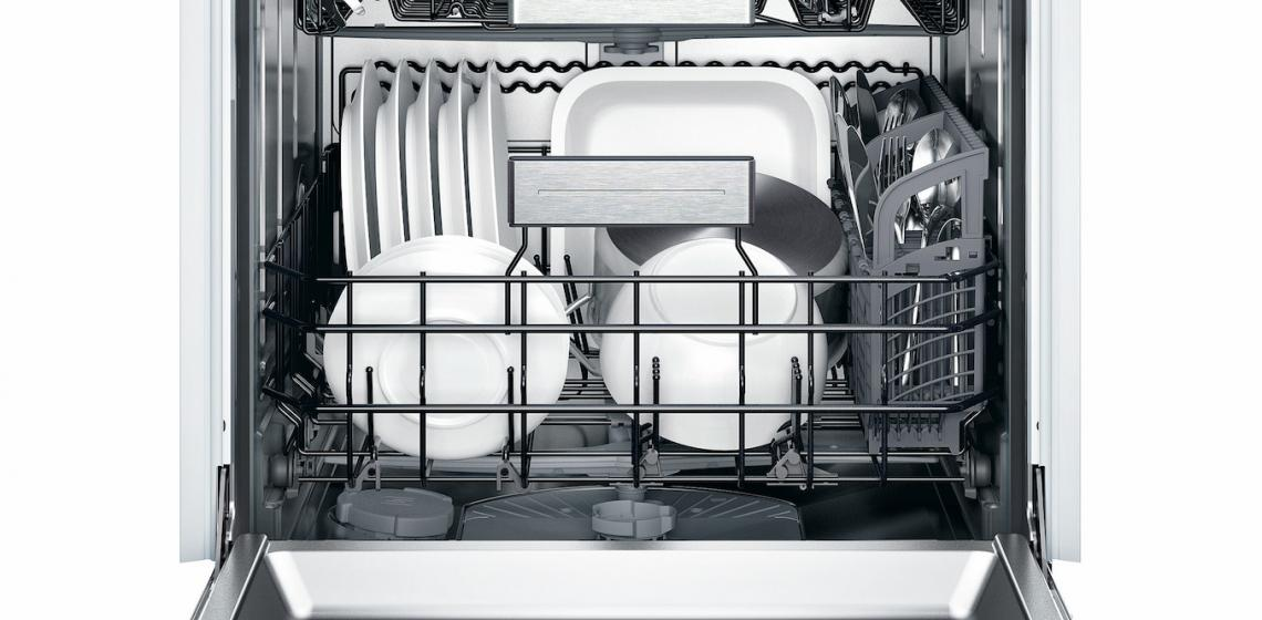 Thermador Star Sapphire Dishwasher Open
