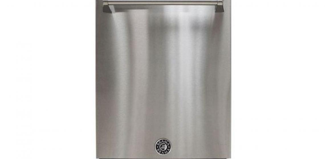 Vinotemp Designer Series Brama Stainless Dishwasher front