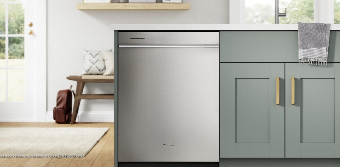 Whirlpool Fingerprint Resistant Quiet Dishwasher with 3rd Rack