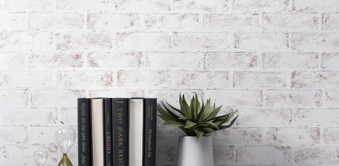 Wilsonart Greige Ash and Whitewashed Brick black and white laminate
