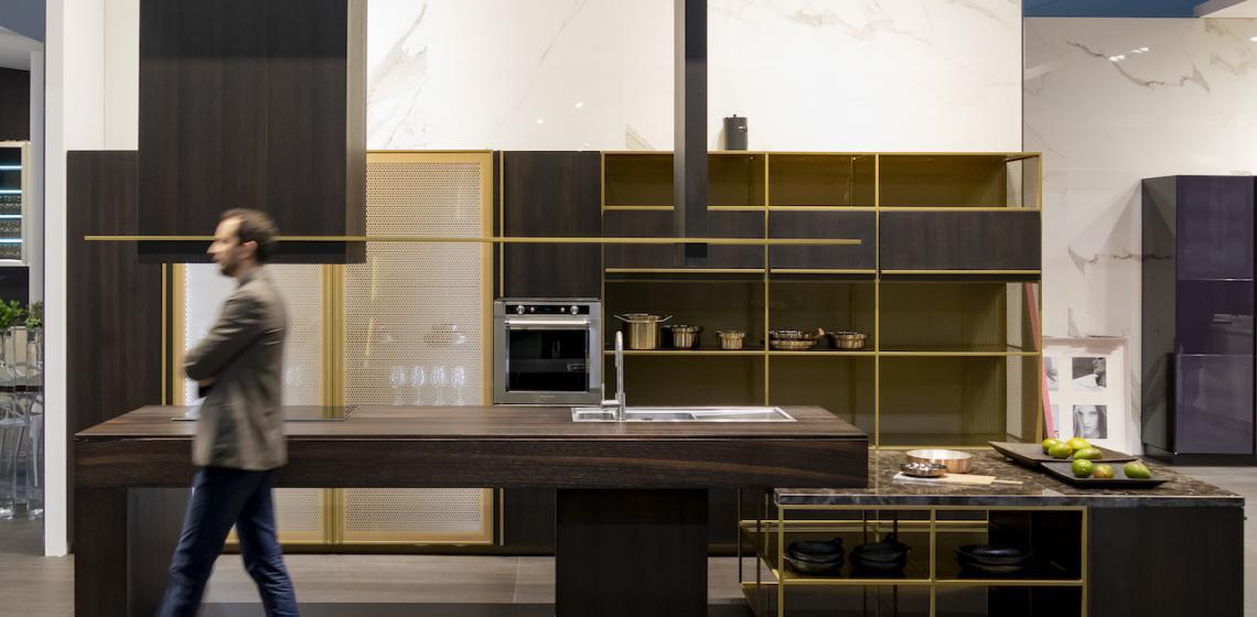 Rastelli kitchen from EuroCucina