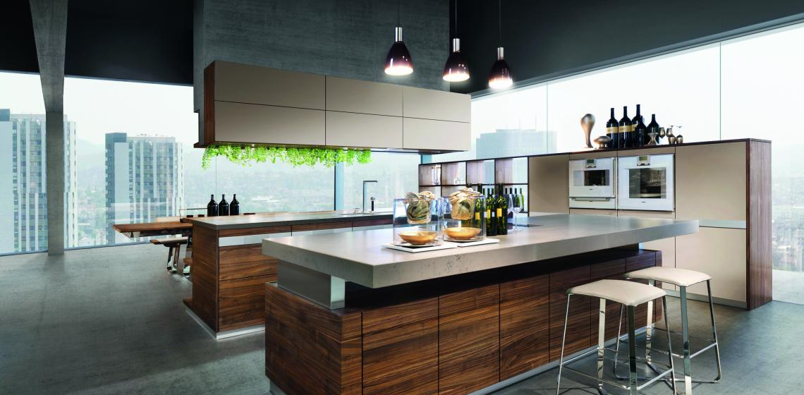Walnut K7 kitchen from Team7