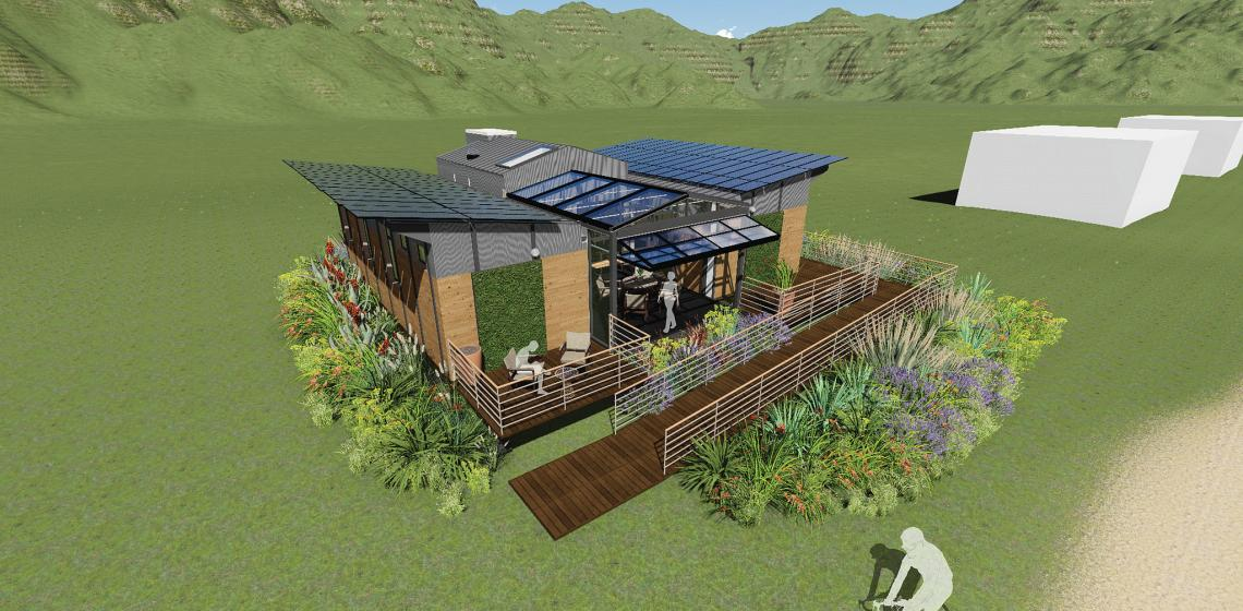 University of Maryland Solar Decathlon reACT house