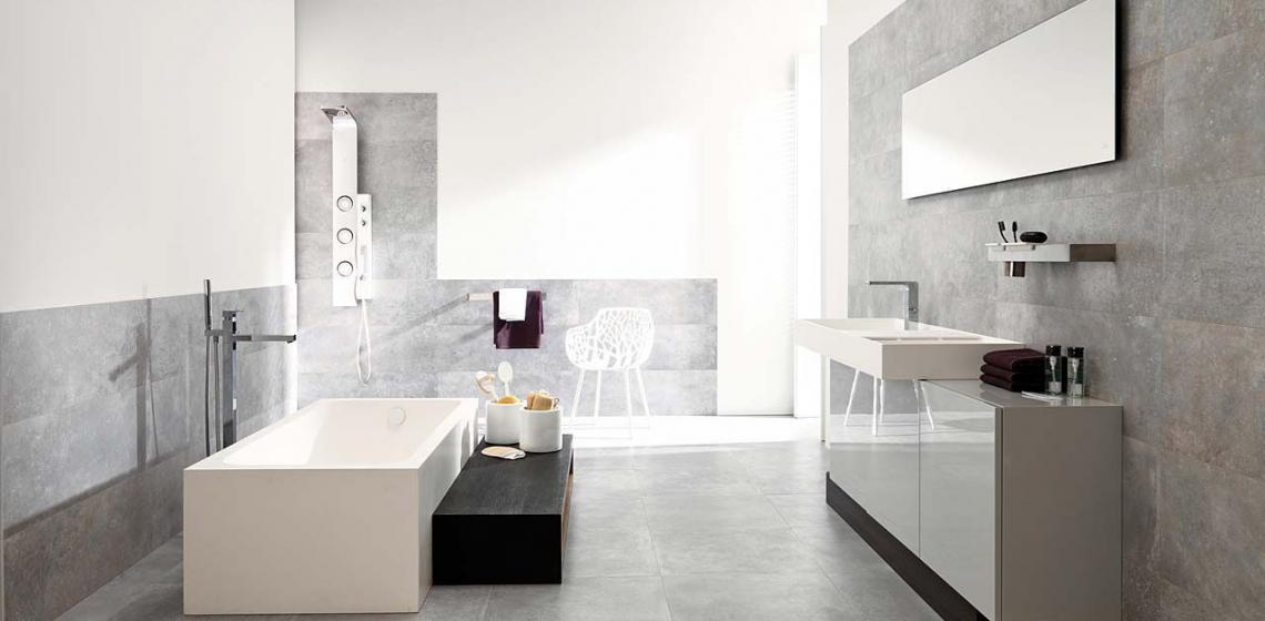 Bathroom ideas with Porcelanosa Grupo Tile