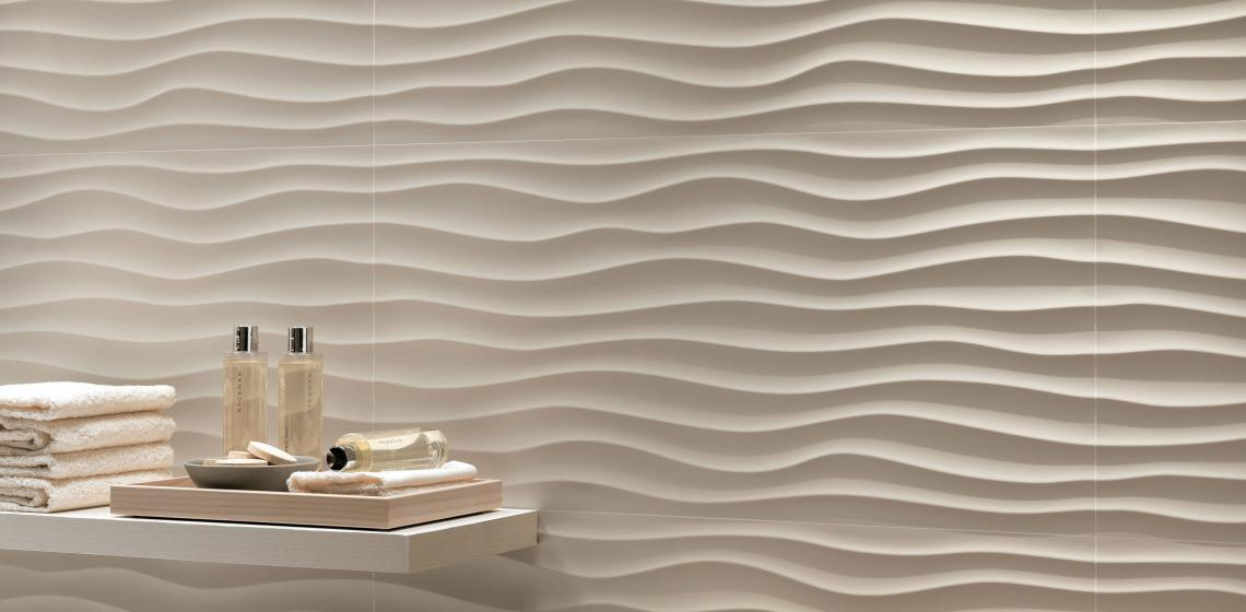 Ceramic tile is so popular in U.S. home building and remodeling that you could go outside, throw one stone, and hit five houses that have the material in the kitchen and the bath.