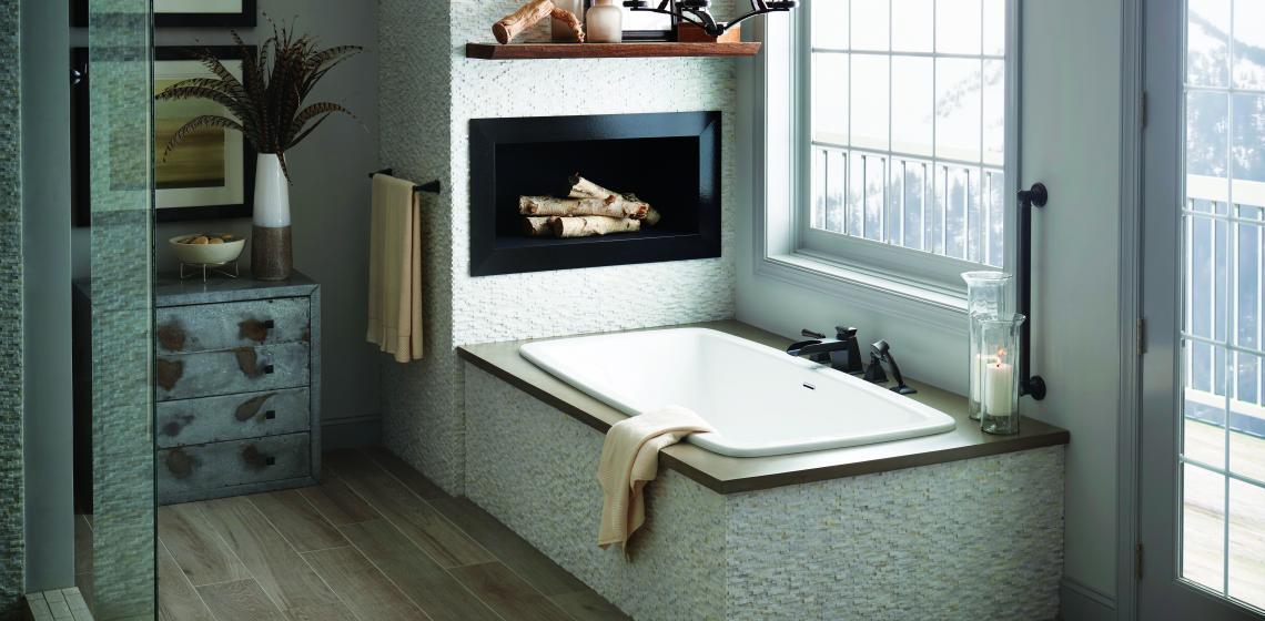 AQUATIC Curve7236C Serenity54 Bath Tub Beauty shot