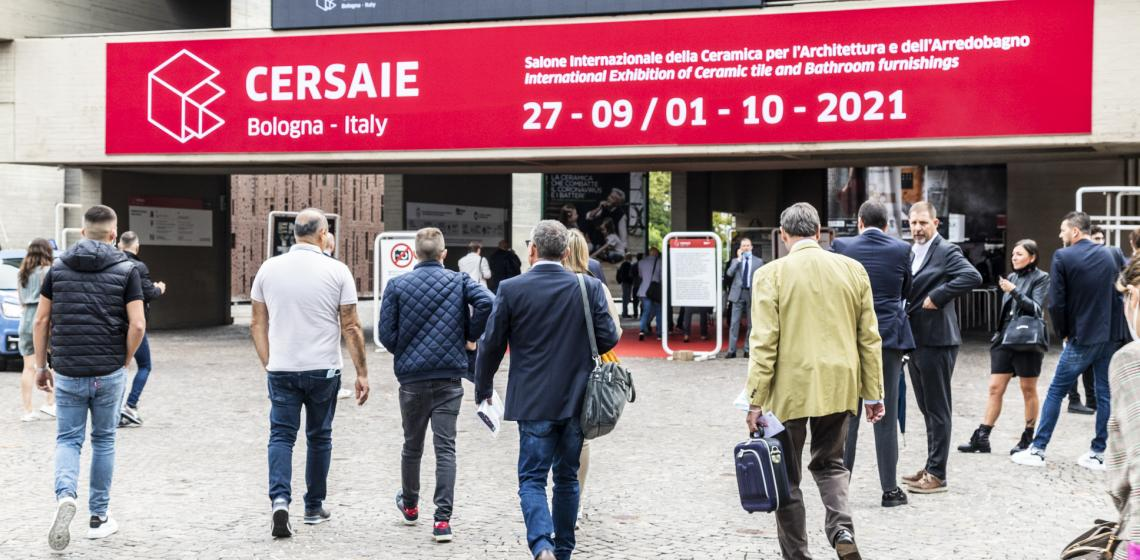 cersaie, Italy's biggest ceramic tile trade show, attracts thousands every year