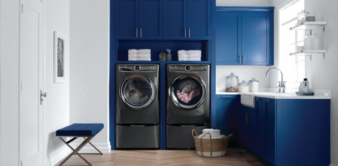 ELectrolux laundry Products Blue Room